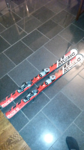 Atomic Race 6 Bode Miller downhill skis 120CM