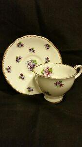 Sweet Violets Tea Cup and Saucer Belleville Belleville Area image 1