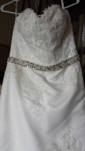 Casablanca wedding dress size 10
