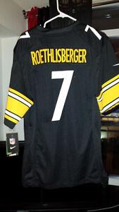 NWT Ben Roethlisberger Nike Black Game Jersey - M