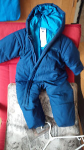 18 month down/feather Columbia snowsuit / bunting suit