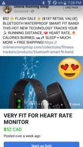 VERY FIT FOR HEART RATE SMART BLUETOOTH BAND