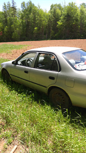 2001 toyota camry asking 900 obo