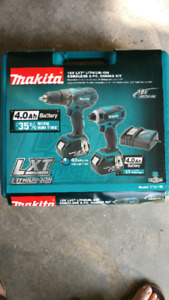 MAKITA Drill and Driver combo kit 4Ah Battery's!!