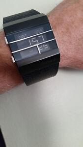 Men's digital Diesel watch