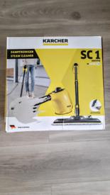 Karcher SC1 Steam Cleaner + 2x Accessories