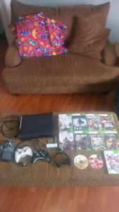 Used Xbox 360 + games for sale $125