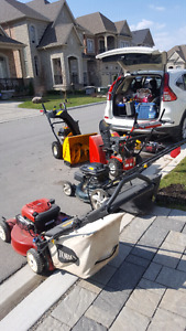 On-Site Lawn Mower Repair • HOME VISITS • Small Engine Services
