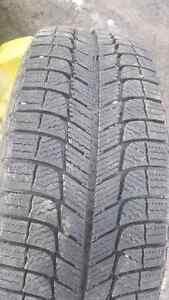Winter tires with rims. Only driven 5k 205/65R16