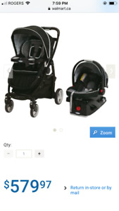 Graco Click Connect Stroller and Car Seat System