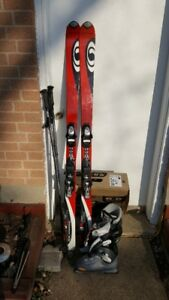 Salomon Verse 5.5 ski set