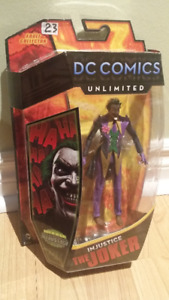 "DC Comics Unlimited Injustice JOKER 6"" figure brand new!"