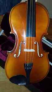 """New 16.5"""" Knilling Viola with Original Case and Bow"""