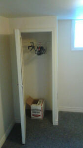 ROOM FOR RENT IN TWO BDRM BASEMENT APARTMENT