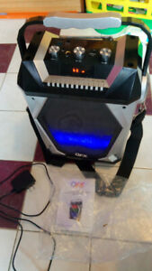 LED Lightshow Bluetooth USB MP3 Radio Party Speaker System