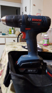 Bosch(18V and LED light) Drill driver for sale