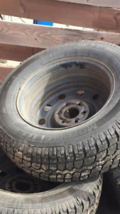 245/70/17 Studed Winter Tires