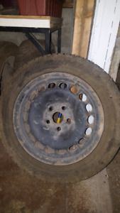 """Get ready for winter. 16"""" black steel rims. Set of 4."""
