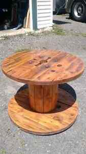 Electrical Spool coffee table