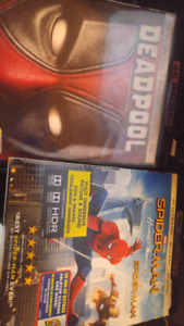 Selling 4K Spider-Man Homecoming and Deadpool 1