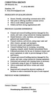 Looking for work in Cleaning/housekeeping