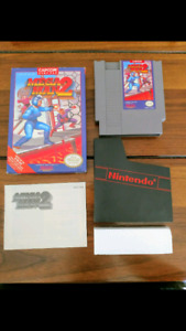 Megaman 2 nes complete in box