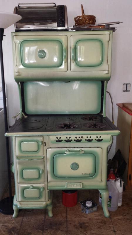 Antique Belanger Duo Stove Stoves Ovens Amp Ranges
