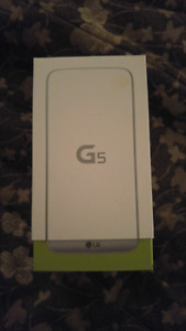 LG G5 - Brand New/Unopened Box - Fido/Rogers - $350