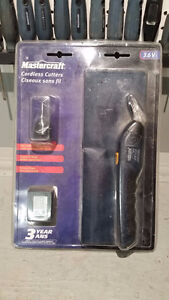 New In Package Mastercraft Cordless Cutters