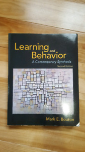 Learning and Behavior: A Contemporary Synthesis (2nd Ed)