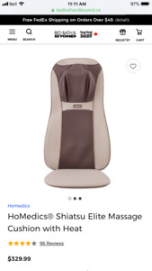 Massage and heat cushion