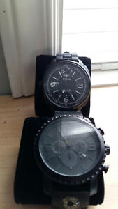 2 Brand NEW Fossil watches, $100 each