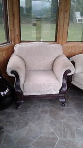 Sofa and chair asking $500