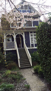 4 Bedroom House in the Heart of Kitsilano available ASA