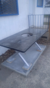 Fire pit table! For cost of materials. Free labor