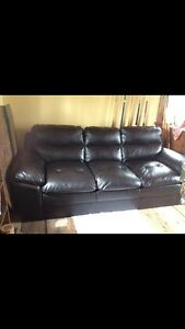 Brand new leather couch need gone ASAP