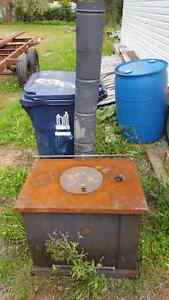Wood stove for free