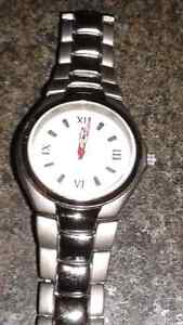 TIME ZONE MEN'S STAINLESS STEEL WATCH