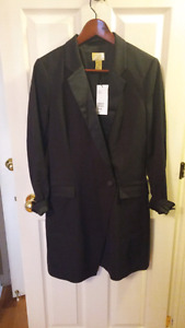 NWT H&M Blazer Dress sz 8