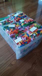 Lego Bricks & Minifigures