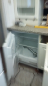 Under counter built in fridge and freezer