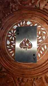 Ace of Spades Playing Card Bottle Opener