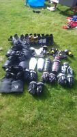 Assorted Kids Hockey Gear