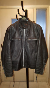 Woman's Leather Jacket and Chaps