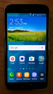 Samsung Galaxy S5 Mint Condition FOR SALE