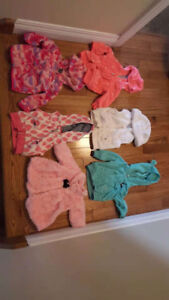 Six baby girl clothes for sale(3m).$30 for all.