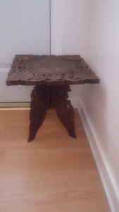 Indian hand crafted side table