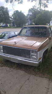 1986 Chevy C10/1500 (SOLD PENDING FUNDS)