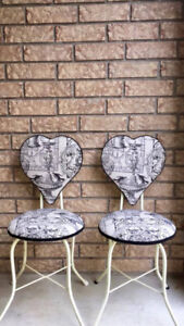 Vintage Vanity/Accent Chairs - Excellent Condition