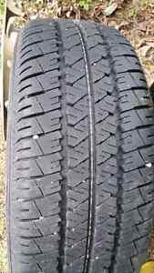 4- firestone fr-710 all season tires on rims/205-55-16